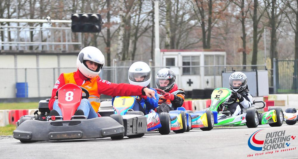 Gevorderde Kartles 1 Circuit Park Berghem Chrono Karting