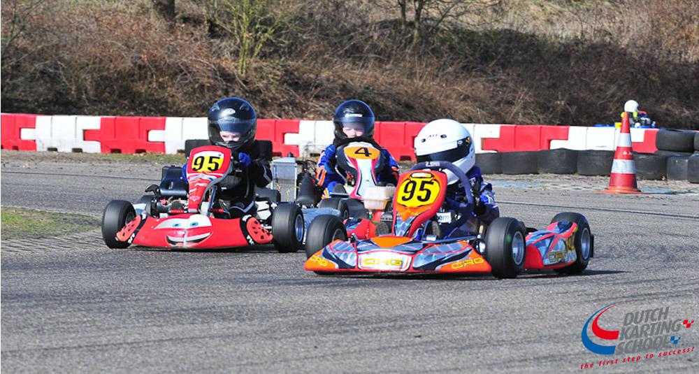 Gevorderde Kartles 3 Circuit Park Berghem Chrono Karting