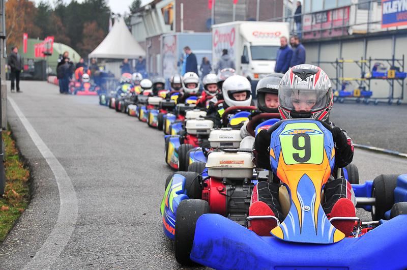 Dks Les 10 Kart Examen Circuit Park Berghem Chrono Karting