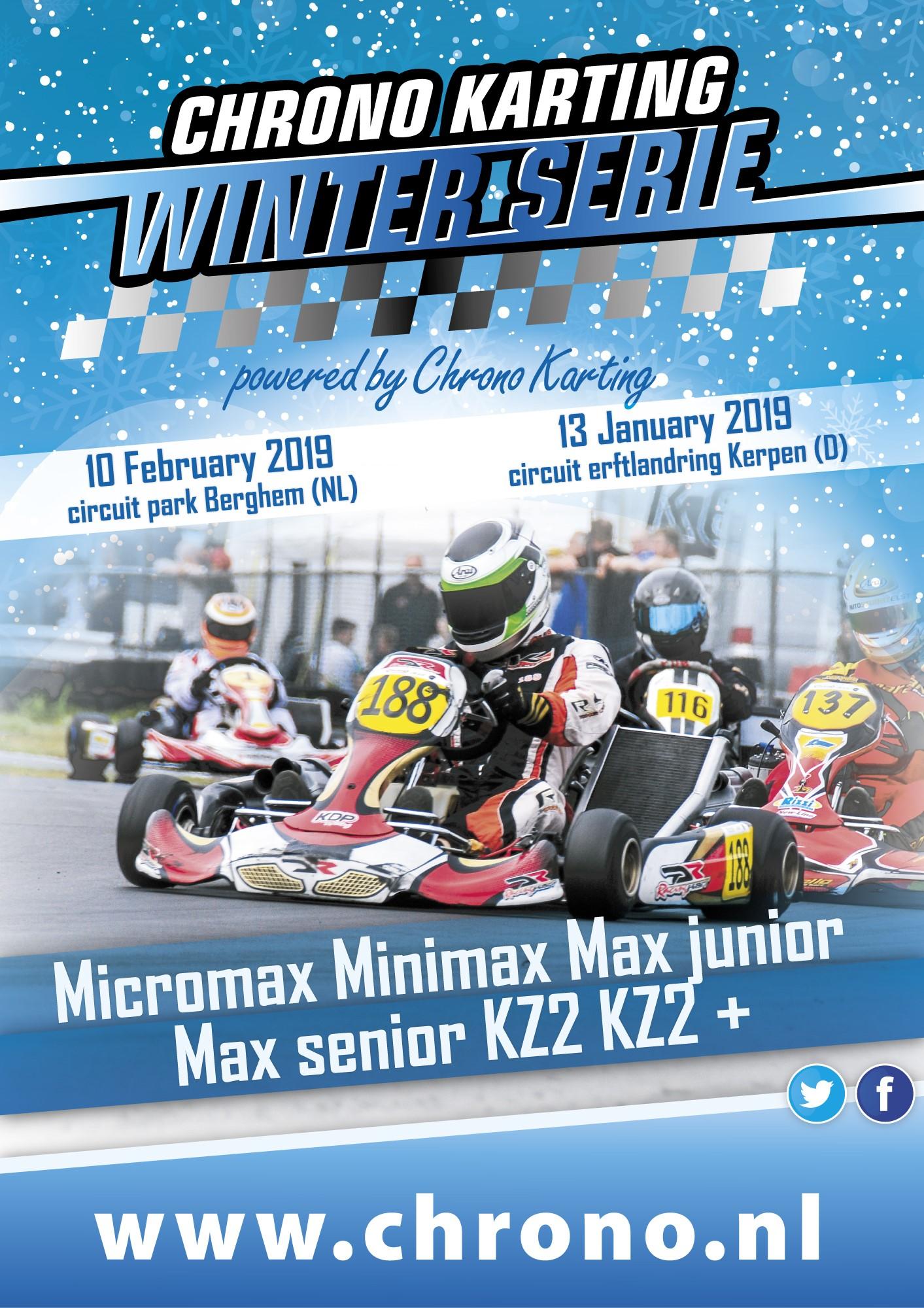Open Winter 2t Serie 2019 Chrono Karting