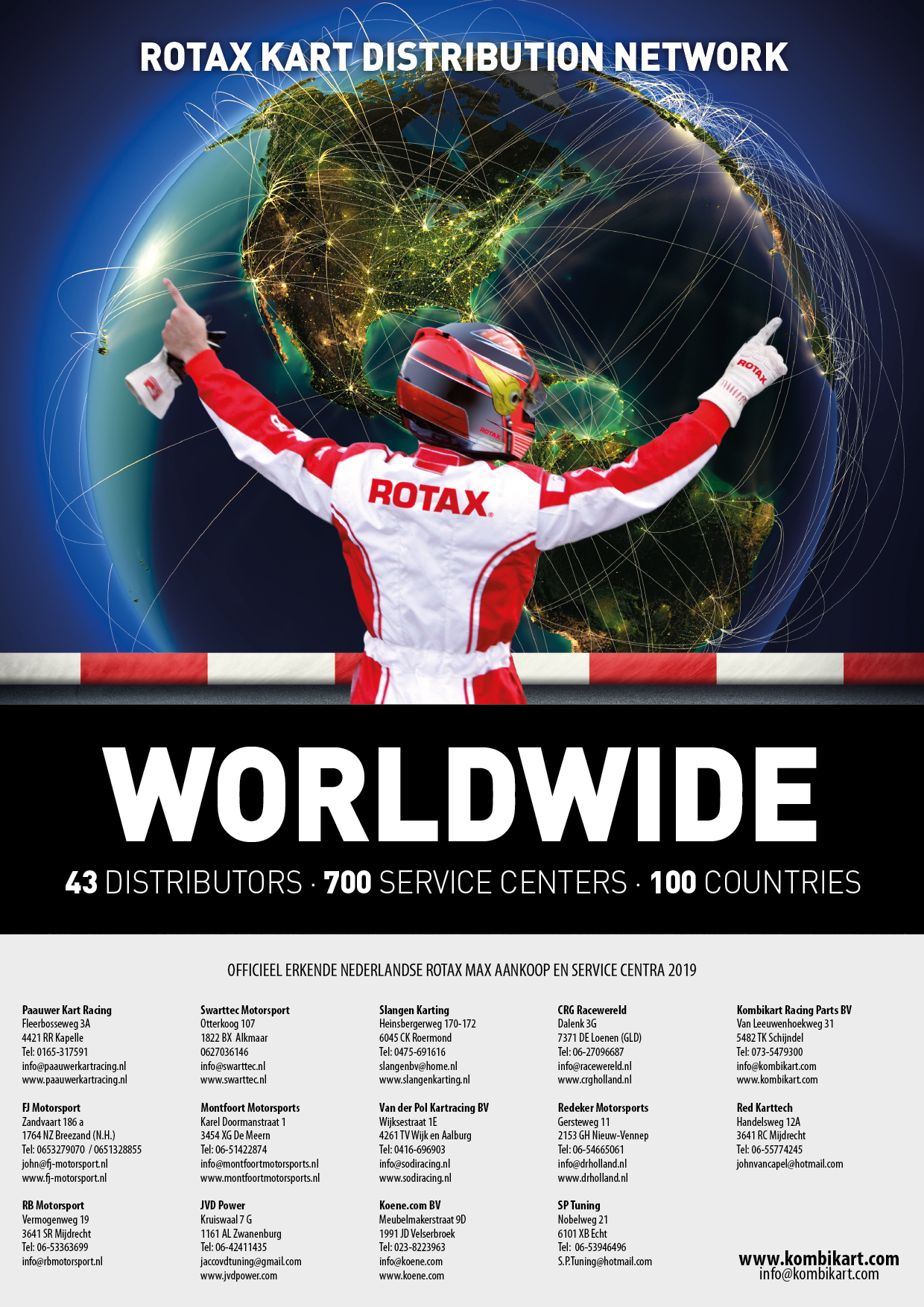 Rotax Service Centers 2019