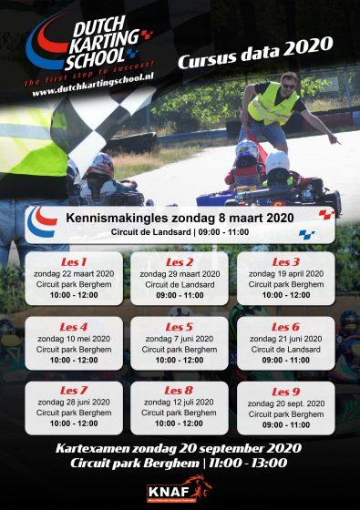 Kalender Beginnersles 2020